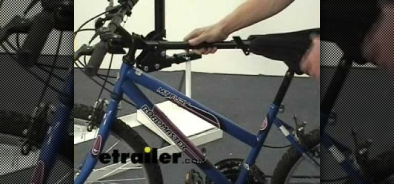 How To Use The Thule Adapter Bar On A Bike Rack 171 Car Mods