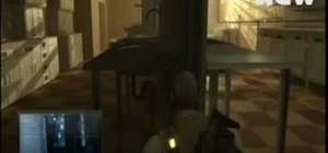 Beat Mission 9 on Splinter Cell: Double Agent