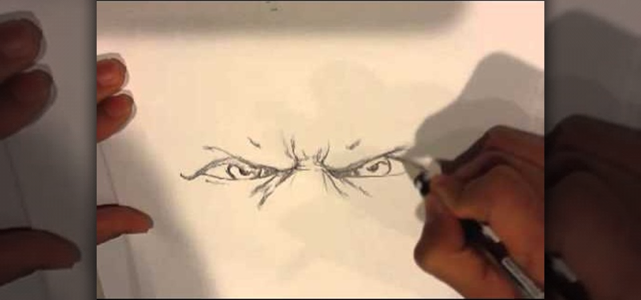 Anger Expression Drawing How to Draw Angry God Eyes