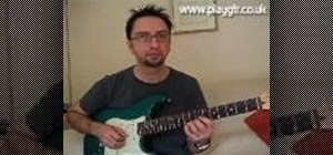 Play a chromatic scale on the guitar