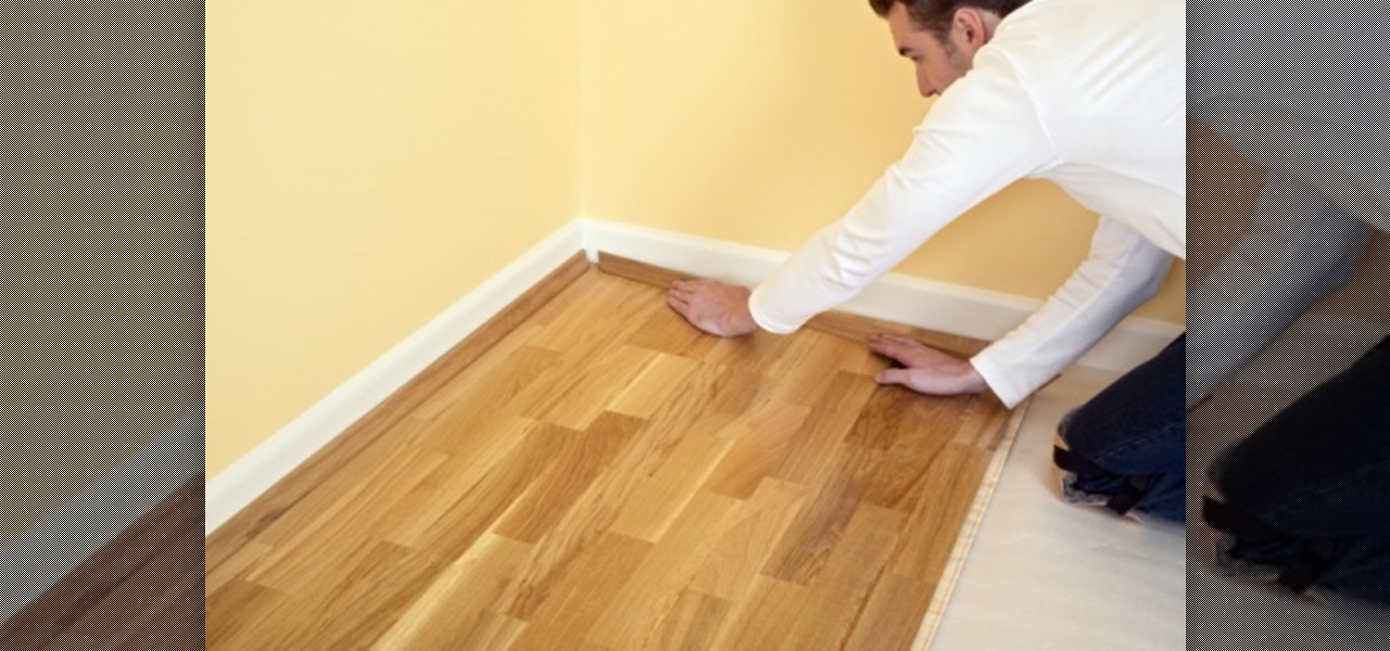 Easily Replace A Damaged Laminate Floor Plank