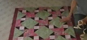 Measure your quilt for perfect borders