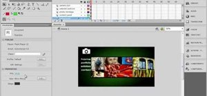 Make a timeline for your website in Flash CS4