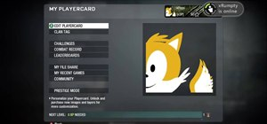 Draw Sonic and Tails in the Black Ops Emblem Editor