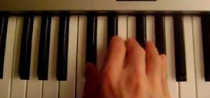 "Play the Justin Bieber song ""U Smile"" on piano"