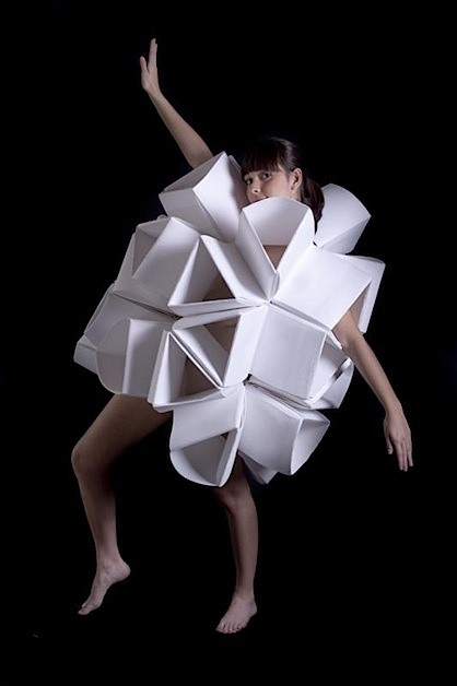 Models Swallowed by Origami