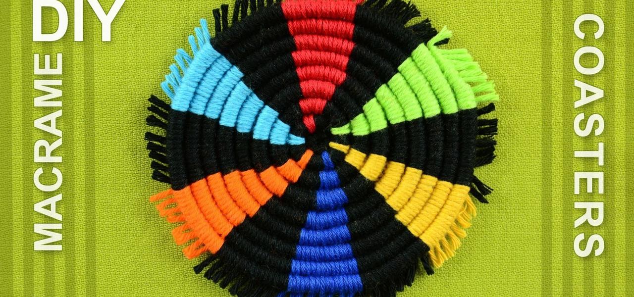 Make a Round Coasters