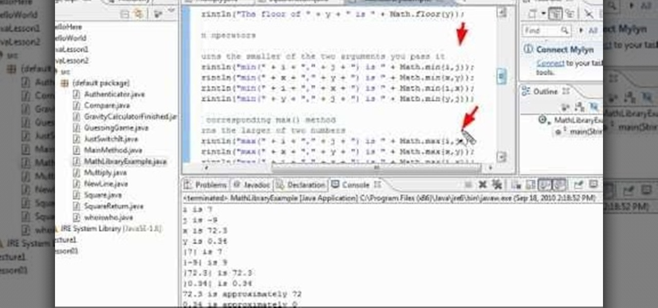 How to Create basic mathematical functions when programming