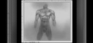 Draw a male torso or man's body for anime or manga