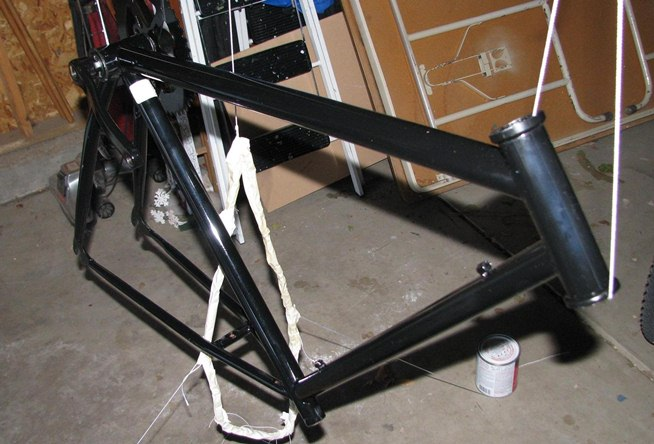spray paint bicycle. Black Bedroom Furniture Sets. Home Design Ideas