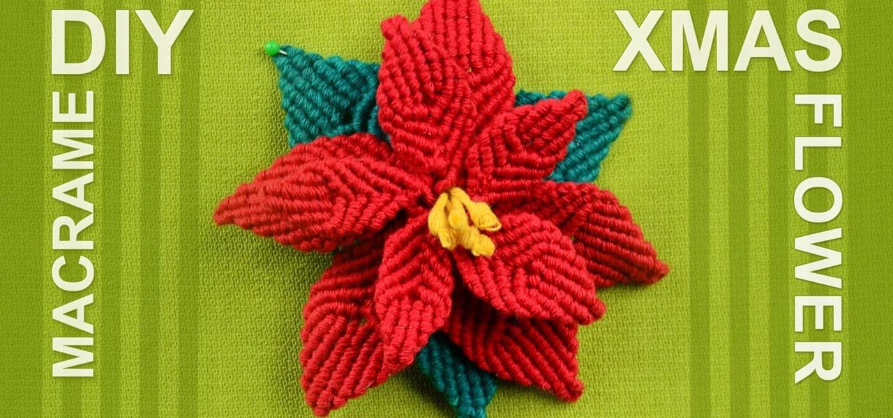 How To Make Christmas Flower Poinsettia Christmas Ideas