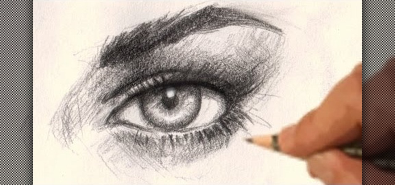 How to draw a realistic female eye drawing illustration wonderhowto