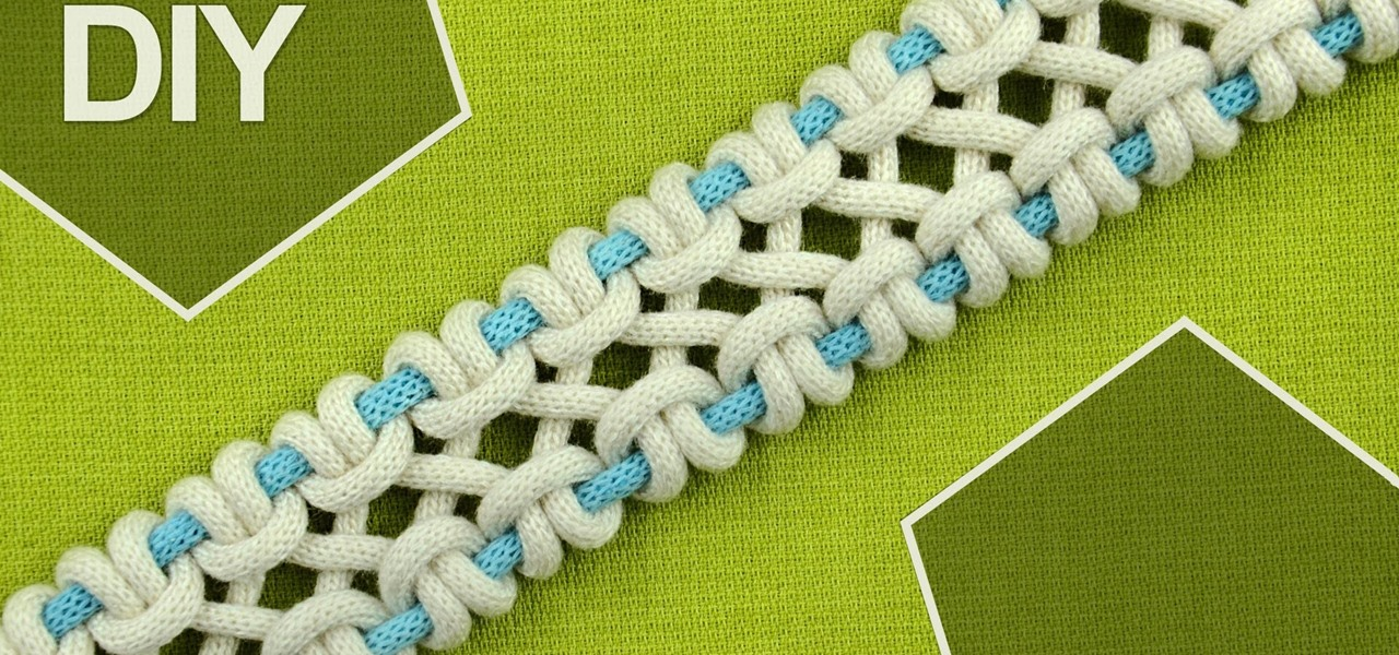 FOUR and SIX Strands Crossed Sennit, Chain (DIY)