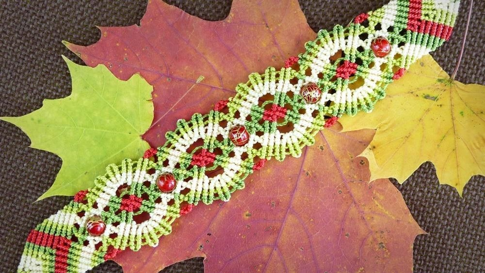 Macrame Autumn | Fall Bracelet Tutorial