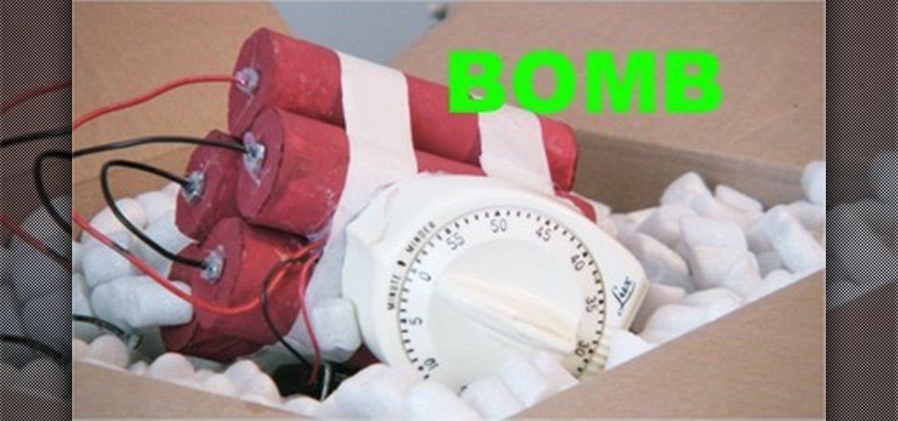How to Make a prop movie bomb « Props & SFX :: WonderHowTo