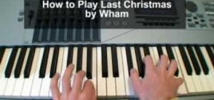 "Play ""Last Christmas"" by Wham on piano"