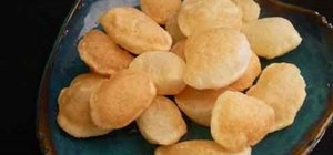 Make Indian puri for pani puri