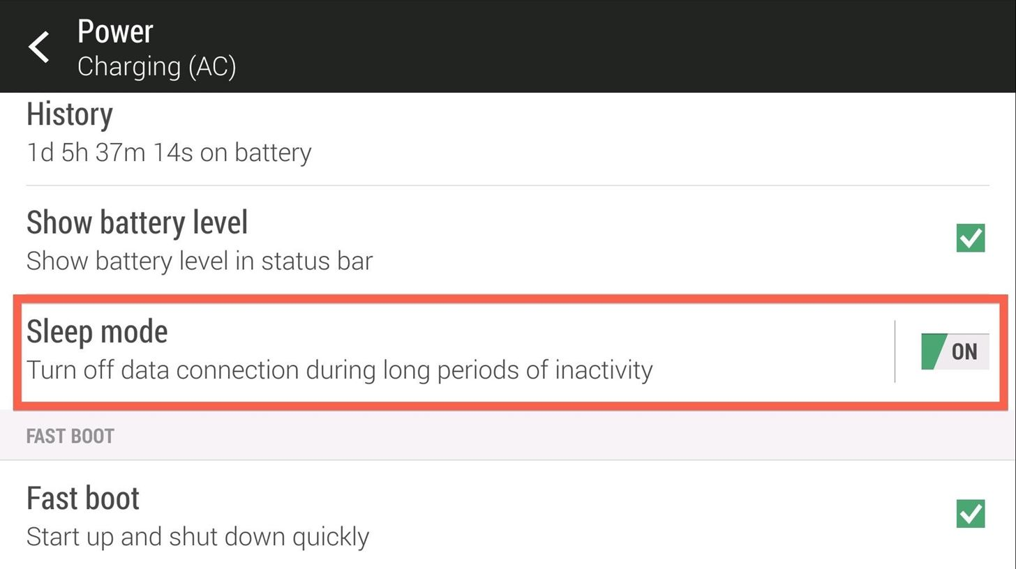 Make Your HTC One's Battery Last All Day Long Using These Power-Saving Settings