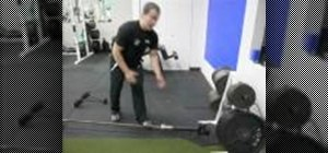 Enhance core stability with barbell rainbow exercise