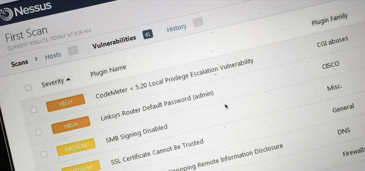 Hack Like a Pro: How to Scan for Vulnerabilities with Nessus