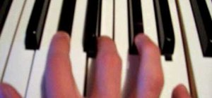 Play The Simpsons theme song on piano