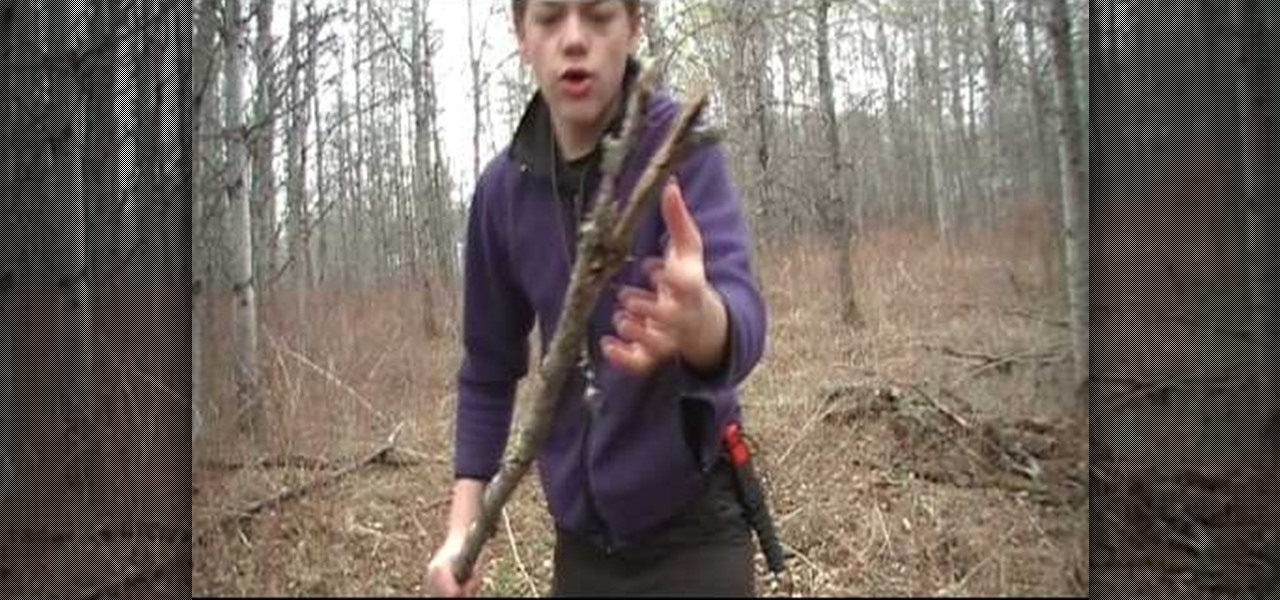 How to make a fishing spear for use in the wild survival for How to make a fishing spear