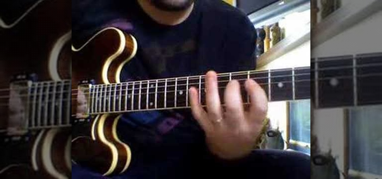 How To Play Yyz By Rush On The Electric Guitar Electric Guitar
