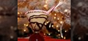 Make a Peppermint Mocha martini