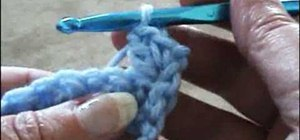 Crochet the seed stitch