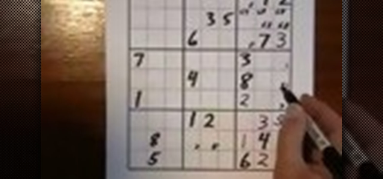 How to Solve a sudoku puzzle with special techniques « Puzzles ...