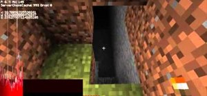 Find caves in Minecraft beta
