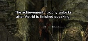 Get the 'Bound Until Death' achievement in The Elder Scrolls V: Skyrim