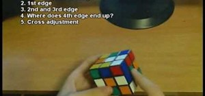 Solve the Rubik's Cube cross faster than anyone