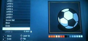 Make a soccer ball or baseball Call of Duty Black Ops player card / emblem