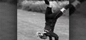 Do a soccer somersault throw-in with Asta Arnadottir