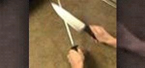 Sharpen a knife