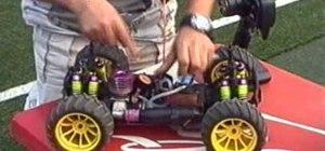 Start a nitro engine