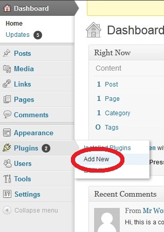 How to Add a Plugin in Your Wordpress Site