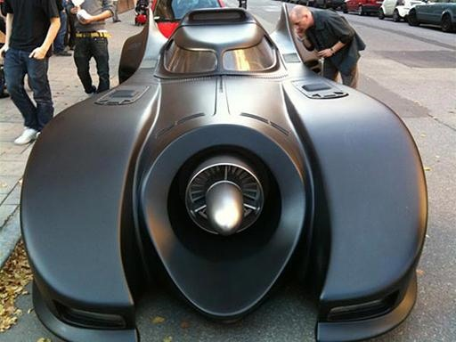 Obsessive $1,000,000+ Batmobile Replica