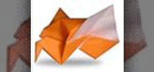 Origami a chubby sparrow Japanese style