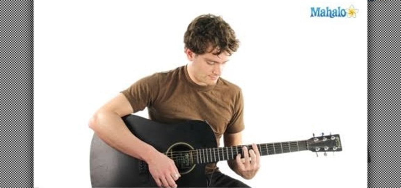 How To Play A B11 Or B13 Chord On An Acoustic Or Electric Guitar