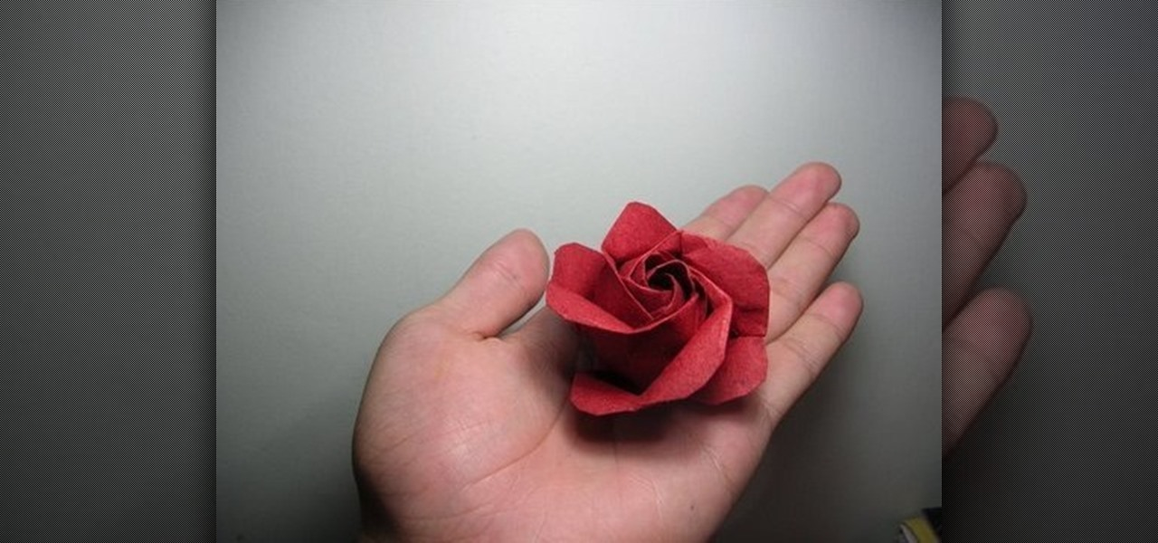 How To Fold A Kawasaki Origami Rose Variation WonderHowTo