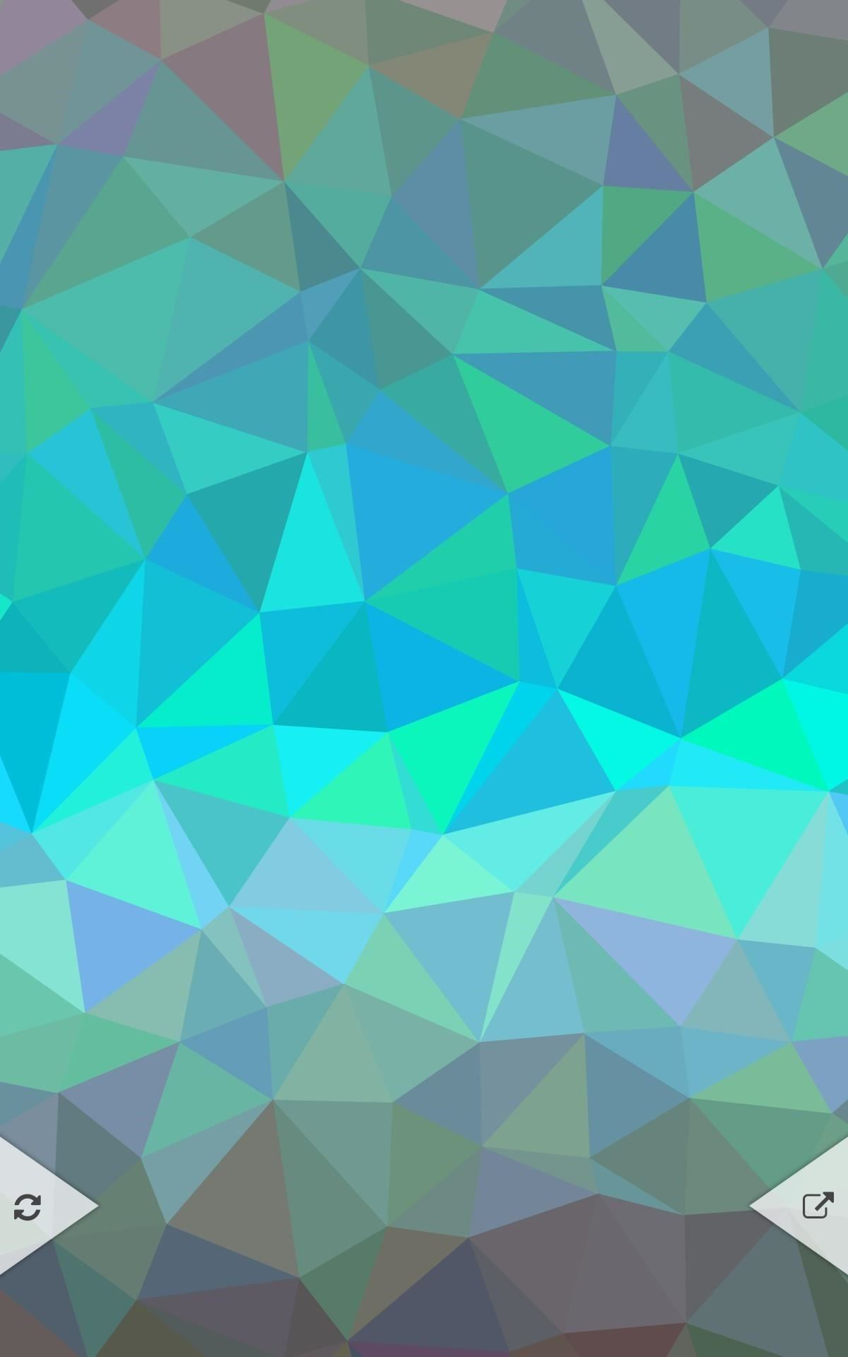 create your own custom polygon shaped wallpapers for