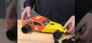 Set gear mesh on a remote control car