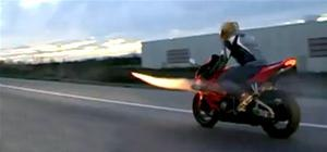 Crazy Rocket Launcher Motorcycle Mod