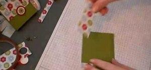 Make a paper handbag