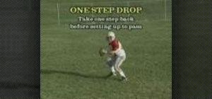 Practice QB one and three step drops