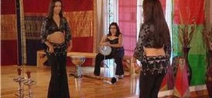 Belly dance undulation