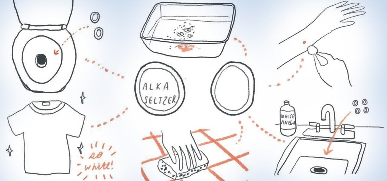 11 Extraordinary Uses for Alka-Seltzer Effervescent Tablets