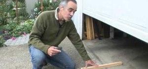Install your garage door safely